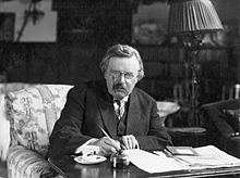 G._K._Chesterton_at_work