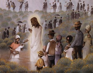 Charles Carol Coleman--Black Baptism