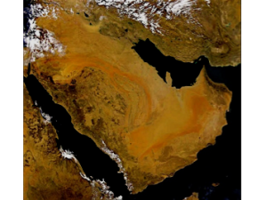 Present day Arabia