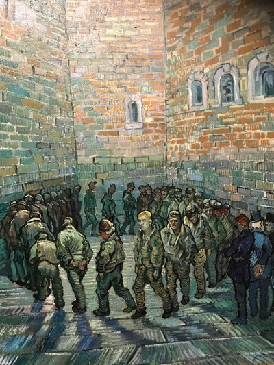 Prisoners exercisisng Van Gogh 1890
